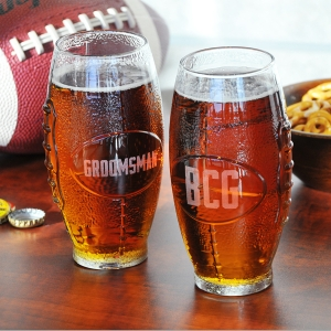 Personalized Football tumbler